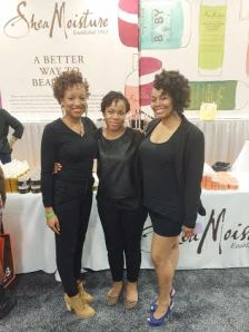 SheaMoisture Models with stylist @kinkyhairmaverick